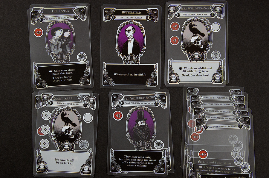 Cards from Gloom