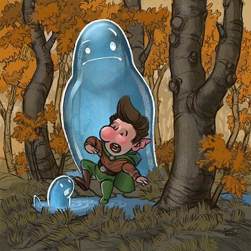 Fleck and the Puddle Spirits