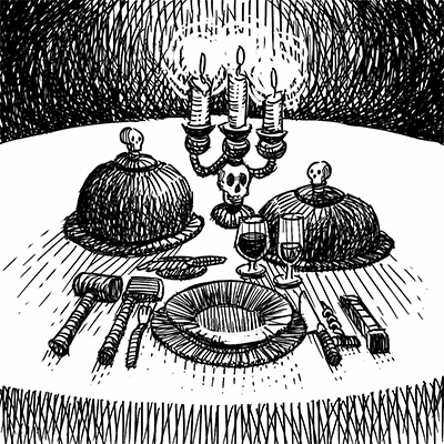 The Gloom Chronicles: Dinner with the Duke