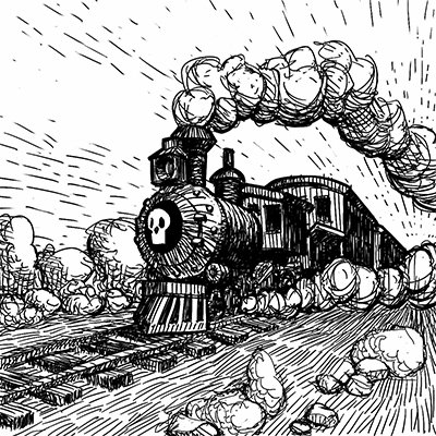 The Gloom Chronicles: Trapped on a Train